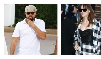 Leonardo DiCaprio Hitting On Dakota Johnson