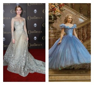 Lily James Opens Up About Cinderella Waist Controversy PHOTOS