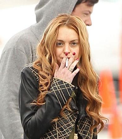 Lindsay Lohan Glee