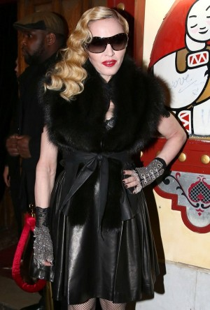 Madonna Parties At The Raspoutine Nightclub