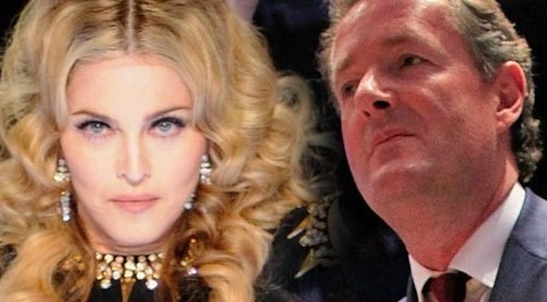 "Piers Morgan Wants An Apology From Madonna While Bending On Her Knees After Having A ""Private Spat"""