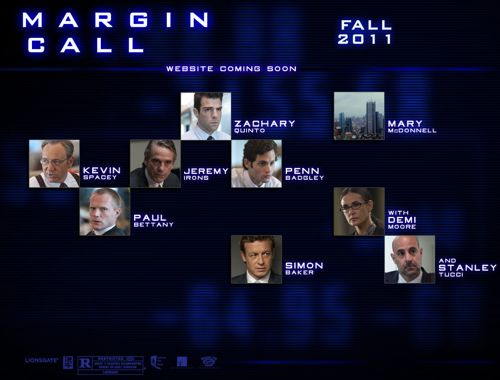 WATCH: 'Margin Call' Official Trailer Has Arrived