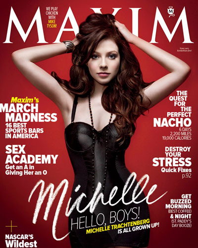 Michelle Trachtenberg Sizzles For Maxim March 2011 – Photos