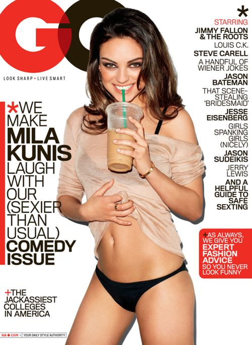 PHOTOS: Mila Kunis Turns On GQ &#8211; Aug. 2011
