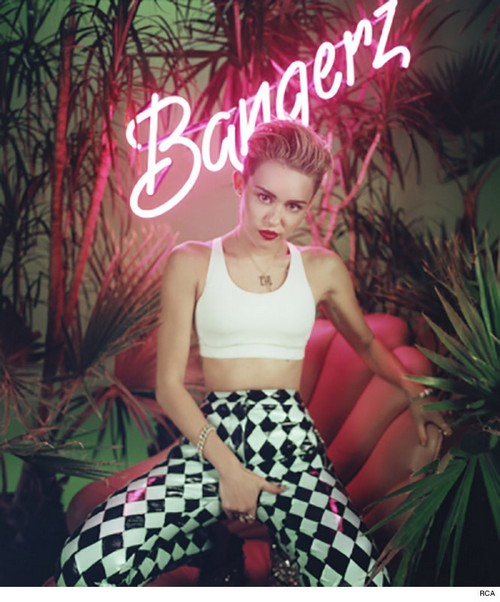 Miley Cyrus Shows Boobs, Butt, And Grabs Crotch In New Bangerz Promotional Photos