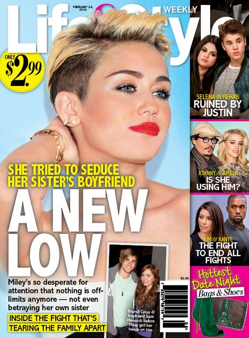Did Miley Cyrus's Out Of Control Behavior Lead To Her Propositioning Her Baby Sister's Boyfriend?
