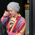 Miley Cyrus Shopping In Beverly Hills