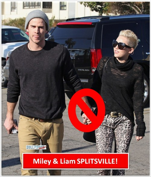 Miley Cyrus and Liam Hemsworth Have Broken Up!