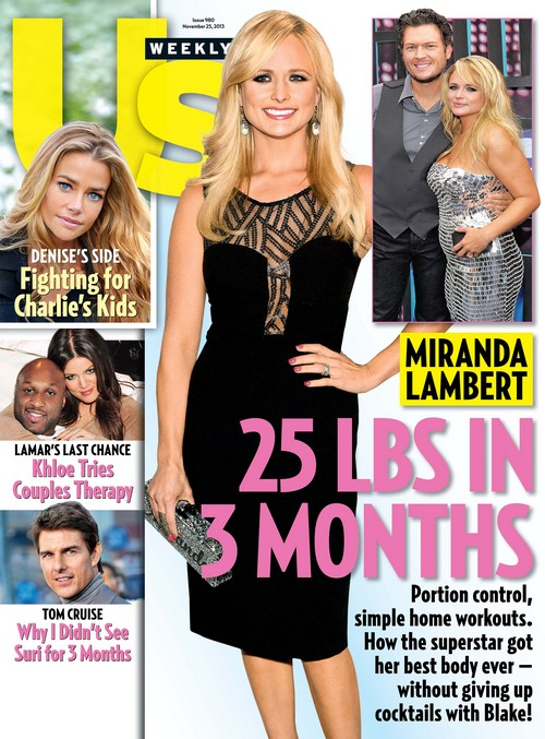 Miranda Lambert Loses 25 Pounds In 3 Months To Keep Blake Shelton