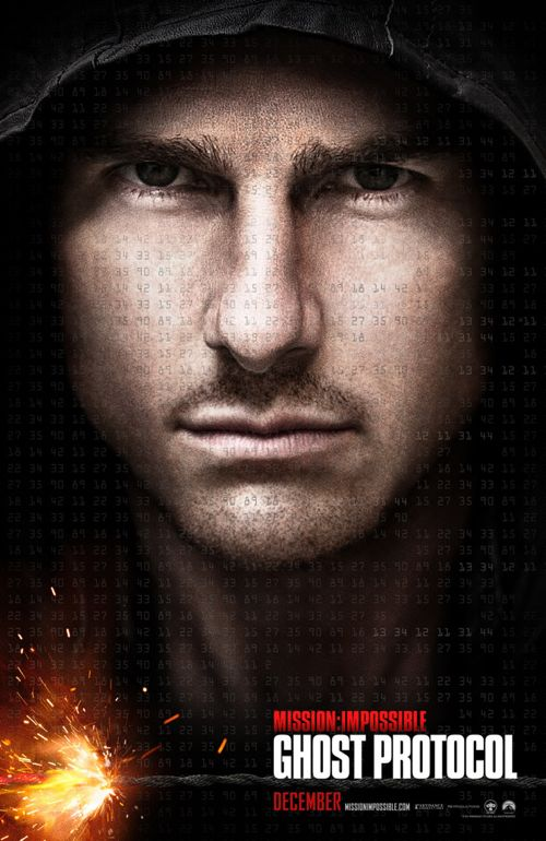 Tom Cruise: &#8216;Mission Impossible  Ghost Protocol&#8217; Official Poster Released