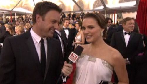 Loving Natalie Portman's SAG Awards Baby Bump – VIDEO