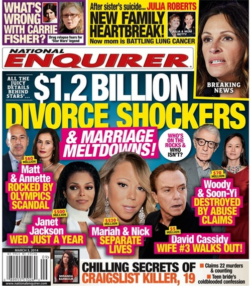 Woody Allen, Mariah Carey, Janet Jackson and More Marriage Meltdowns: All The Juicy Details