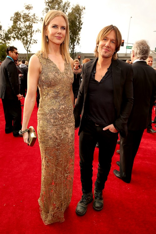 Nicole-Kidman-Keith-Urban-2013-Grammy-Awards-Red-Carpet-Arrival
