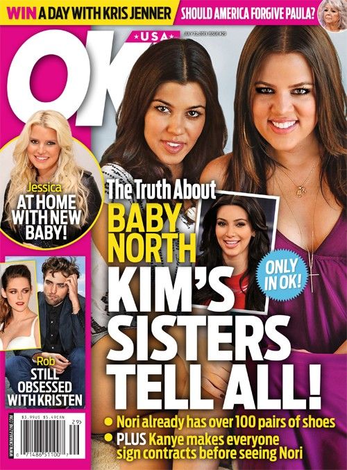 Kourtney and Khloe Kardashian Reveal Details About North West