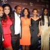 Omari Hardwick, Jordin Sparks, Mike Epps, Debra Martin Chase, Carmen Ejogo, Tika Sumpter and Derek Luke @ SPARKLE NY Premiere