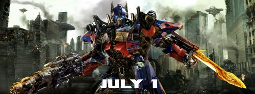 LOOK: NEW Action Shot- Optimus Prime in Transformers:  Dark of the Moon