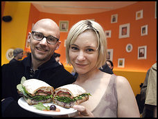 Kelly Tisdale and Moby
