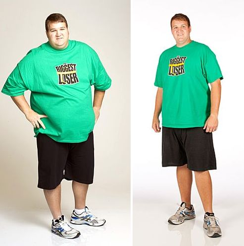 Patrick House Winner of The Biggest Loser - Before and After Photos