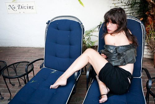 Paz de la Huerta&#8217;s Terry Richardson Photoshoot (Photos)