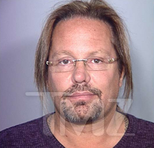 Vince Neil Looks Like a Housewife in New Mug Shot