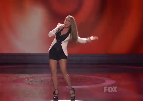 American Idol Top 11: Haley Reinhart Brings Leggy Soul &#8211; Video
