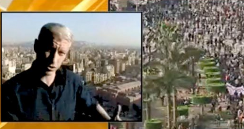 Anderson Cooper Attacked in Egypt – VIDEO