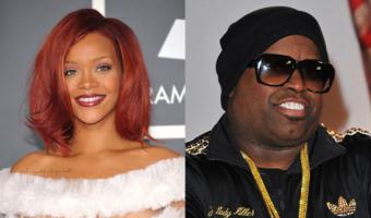 Rihanna and Cee Lo Green