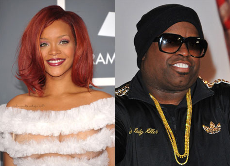 It's Official! Cee Lo Green is Rihanna's Opening Act For 'Loud' Tour