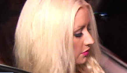Christina Aguilera and BF Matthew Rutler Arrested Last Night