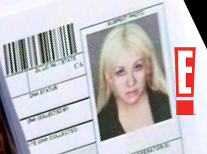 Christina Aguilera Mugshot