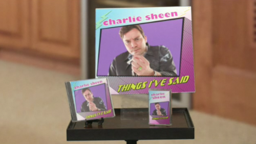 Jimmy Fallon Does Charlie Sheen 'Things I've Said' Commerical – VIDEO