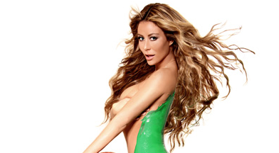 Aubrey O'Day Naked Wet Paint Celtic Photos
