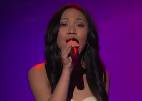 American Idol Top 13: Thia Megia Disappoints – Video