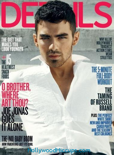 Joe Jonas Details Magazine Photos April 2011