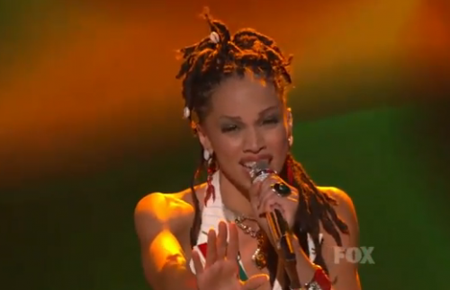 American Idol Top 11: Naima Adedapo Goes Reggae For Elton John – Video
