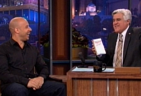 Jay Leno: Vin Diesel 'Breakin' In The USA' VIDEO
