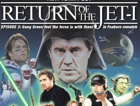 Star Wars Poster - NFL - Jets vs Patriots