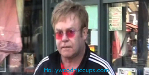 Sir Elton John Destroys Female Photog – VIDEO