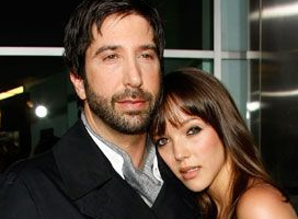 David Schwimmer and Zoe Buckman Are Having a Baby!