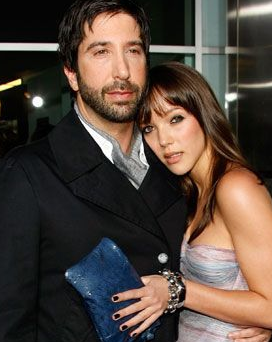 David Schwimmer and Zoe Buckman Pregnant