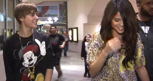 Justin Bieber and Selena Gomez Date