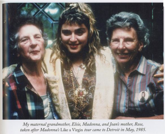 Madonna and Her Grandma Elsie photos