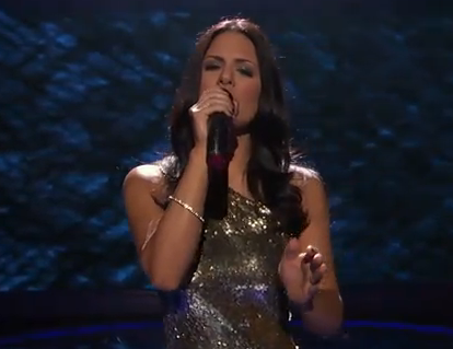 American Idol Top 13: Pia Toscano Sets The Bar – Video