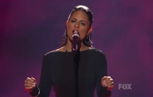 American Idol Top 11: Pia Toscano Channels Celine Dion &#8211; Video