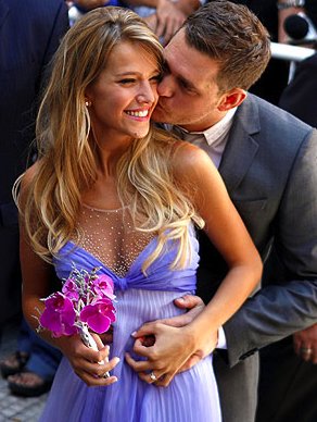 Michael Bubl Married Luisana Loreley Lopilato &#8211; Wedding Photo!
