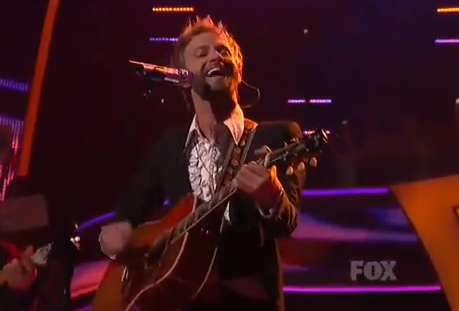 American Idol Top 9: Paul McDonald Does Johnny Cash – Video