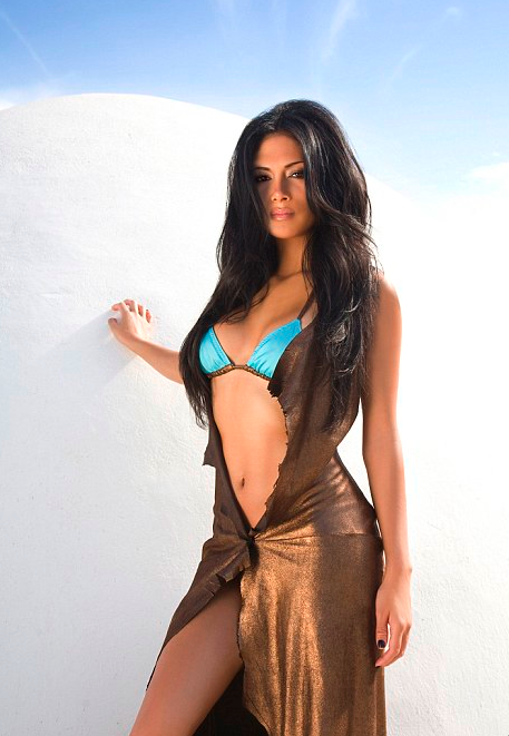Nicole Scherzinger Bikini Shoot Hollywood Hiccups