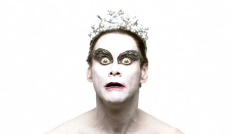 Jim Carrey as Black Swan in SNL