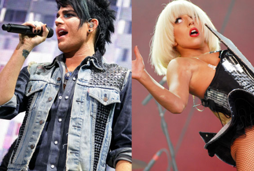 Lady Gaga Kicks Wasted Adam Lambert Out of Her Birthday Party