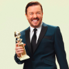 Ricky Gervais Golden Globes Photo